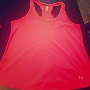 Tops - 4 for $25 Under Armour Pink Racerback tank top
